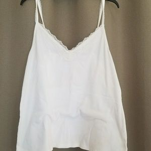 Old Navy XXL Plus size lace cream tank